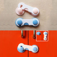 2Pcs Baby Safety Door Lock Kids Drawer Cabinet Security Lock Protection Safety