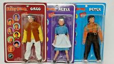 Figure Toy Co. Classic TV Toys - Brady Bunch - PETER, GREG, & ALICE