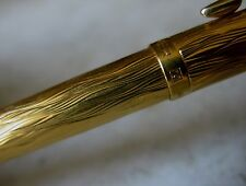 TRES RARE STYLO BILLE PARKER 75 PL.OR - FINITION ECORCE