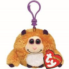 Ty Beanie Babies 37306 Monstaz Rufus the Golden Brown Monster Key Clip