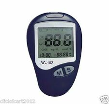 BG-102 Blood Sugar Glucose Diabetes Health Monitoring System