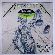 Metallica/...And Justice For All 1988 U.S. Press 2 X LP Sealed New Very Rare