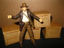 "Indiana Jones Award Winning Custom Cast ""Wood"" Crates Diorama Part Free Shipping"