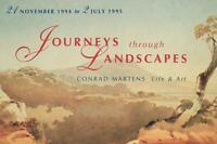 LARGE JOURNEYS THROUGH LANDSCAPES CONRAD MARTENS LIFE & ART EXHIBITION POSTCARD