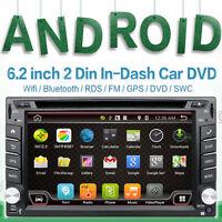 Autoradio 2 Din Doppel Mit Navi DVD CD USB MP3 Android Navigation GPS SD Karten