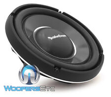 "ROCKFORD FOSGATE POWER T1S2-12 12"" 600W RMS 2-OHM SUBWOOFER SHALLOW SPEAKER NEW"