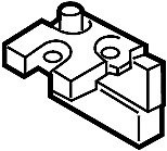 Nissan/INFINITI 24380-89914 Holder Fusible Link. .
