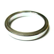"""MR CONTROL Alloy 3mm Thick Headset Spacer 5mm, 1-1/8"""", 5g Silver, L42"""