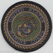 a US Marine Corps Crest Subdued Embroidered Badge Patch *** LAST FEW ***