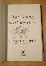 SIGNED Not Young, Still Restless : A Memoir by Jeanne Cooper +PHOTO
