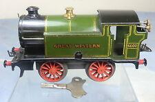 VINTAGE HORNBY '0'  C/W MODEL No.M3  0-4-0T GWR TANK No.6600