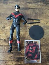 Nightwing Red Suit Variant DC Multiverse McFarlane Toys 7 Inch Action Figure