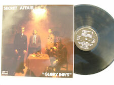 SECRET AFFAIR LP GLORY BOYS i spy 1 + inserts MOD !.... 33rpm / rock