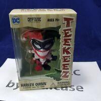 "New Cryptozoic 3"" DC Comics Harley Quinn Teekeez Stackable Vinyl Tiki Figure"