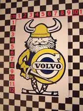 Viking Sticker -Classic Volvo P1800 Amazon 142 144 145 122 P1900 121S 123GT 122S