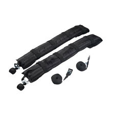 2x Self Inflatable Car Soft Roof Rack Travel Luggage Carriers Bars