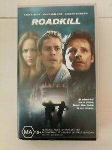 Roadkill - Paul Walker - Thriller VHS Free Postage