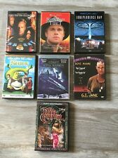 Lot of 7 Standard Hard EMPTY DVD Cases ONLY Some Notes