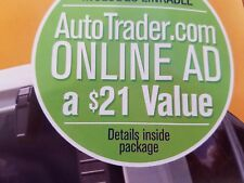 Auto Trader .Com ONLINE AD CODE $21 value *EMAIL DELIVERY* Car Truck SUV Selling