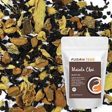 Masala Chai - Classic Organic Loose Leaf Blend - Fusion Teas