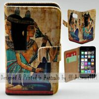 For Apple iPhone Series - Ancient Egypt Theme Print Mobile Phone Case Cover