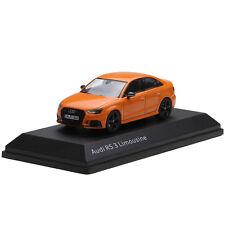 1:43 Dealer Edition Audi Rs 3 Die Cast Model Orange