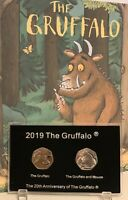 2019 The Gruffalo 50p Coin Empty Display Case Best For Christmas Gift (NO COINS)