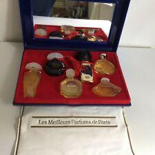 Vintage / Modern Miniature 'Les Meilleurs Parfums de Paris' Set EDP