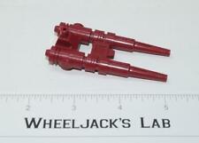 Metroplex Six-Gun Red Double Gun 1985 Vintage G1 Transformers Action Figure