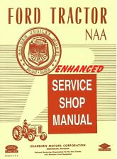 Enhanced 1953-54 Ford NAA   Service/Shop  Manual - Printed Manual - Spiral Bound