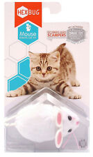 New listing Hexbug Automatic Mouse Robotic Cat Toy Pet Play White New Free Shipping