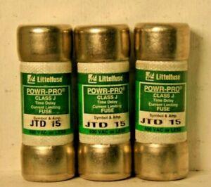 LittelFuse Powr-Pro JTD 15 (pack of 3)
