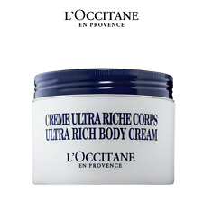 L'Occitane Shea Butter Ultra Rich Body Cream Moisturizer, Free Shipping (7 oz)