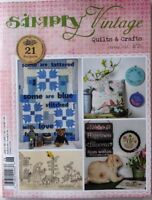 Clearance Sale~Simply Vintage Quilts and Crafts ~Spring 2018 ~No 26