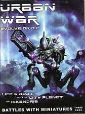 Urban War Edición de la revista 3 25mm skimish sistema de combate Libro