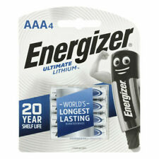 Energizer Lithium 2/3 AAA Batteries - Pack of 4