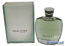 REALITIES FOR MEN AFTERSHAVE LOTION SPRAY 3.4/3.3 BY LIZ CLAIBORNE NEW IN  BOX