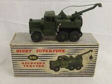 Coffret dinky supertoys 661 Recovery Tractor 1957 / 65