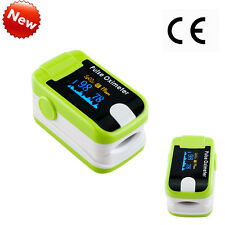 Pulse Oximeter+Alarm OLED Oximetery blood oxygen Monitor Meter + Lanyard New CE