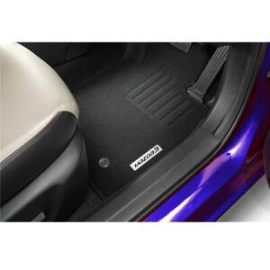 New Genuine Mazda 3 BM BN Carpet Floor Mats Set Black Accessory Part BM11ACFM