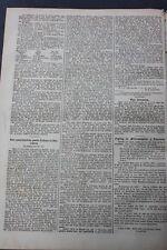 1872 Zeitung 90 / Beschreibung eines Gebäudes zu Sansgarben bei Rastenburg