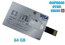 ✹ MBNA ✹ Credit Card Design ✹ USB Flash Drive 64GB ✹