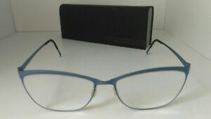 Lindberg eyeglasses Frames Strip Titanium 9584 w/Case
