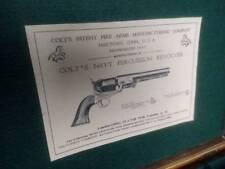 Reproducton Gun Case Label for Colt 1851 Navy Revolver