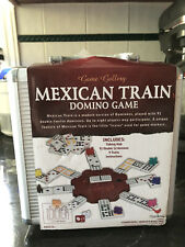 Game Gallery Mexican Train Dominoes in Carrying Case New