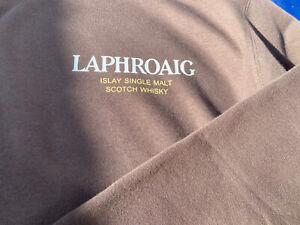 Laphroaig Distillery Whisky Isle Of Islay Hooded Sweatshirt Size Large In Brown