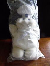 Pillsbury Stuffed Doughboy Hand Puppet 14 1/2 Inches Tall Still In Bag