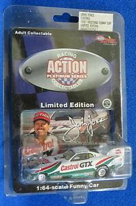 John Force 1997 Castrol Ford Mustang Funny Car. 1:64 Action Platinum Series NHRA