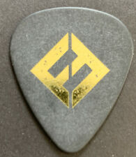 Foo Fighters Black Guitar Pick Concrete & Gold Pat Smear Dave Grohl