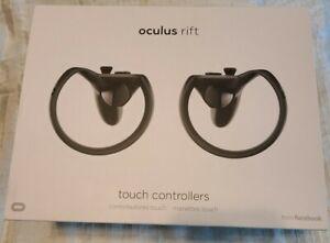 2 oculus rift touch controllers + 1 sensor